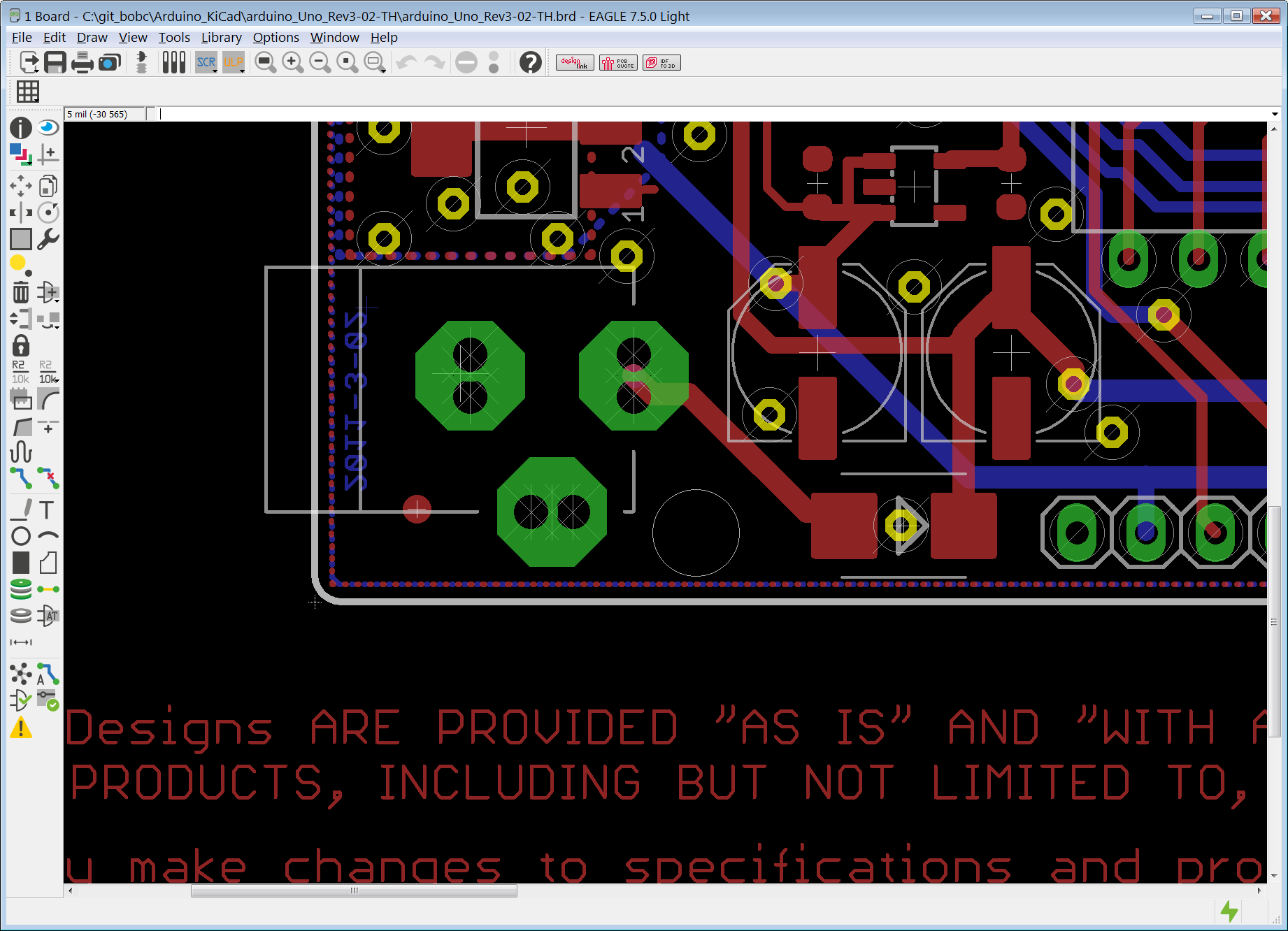 Drc drill to track clearance layout kicad forums