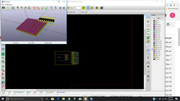Footprint and model 90 degrees off - 3D Models - KiCad info Forums