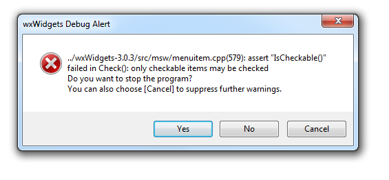 Kicad 5 - 'wxWidgets Debug Alert' Error (Windows) - Software - KiCad