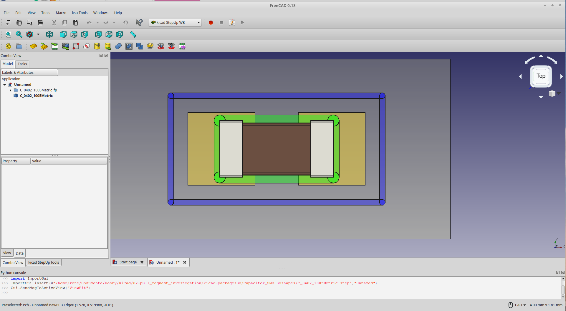 Kicad V5 Export To Step Issues 3d Models Kicadinfo Forums Posts With Printed Circuit Boards Label Screenshot20from202018 07 262019 40 20 Screenshot From 2018 26 19 201922x1058 123 Kb