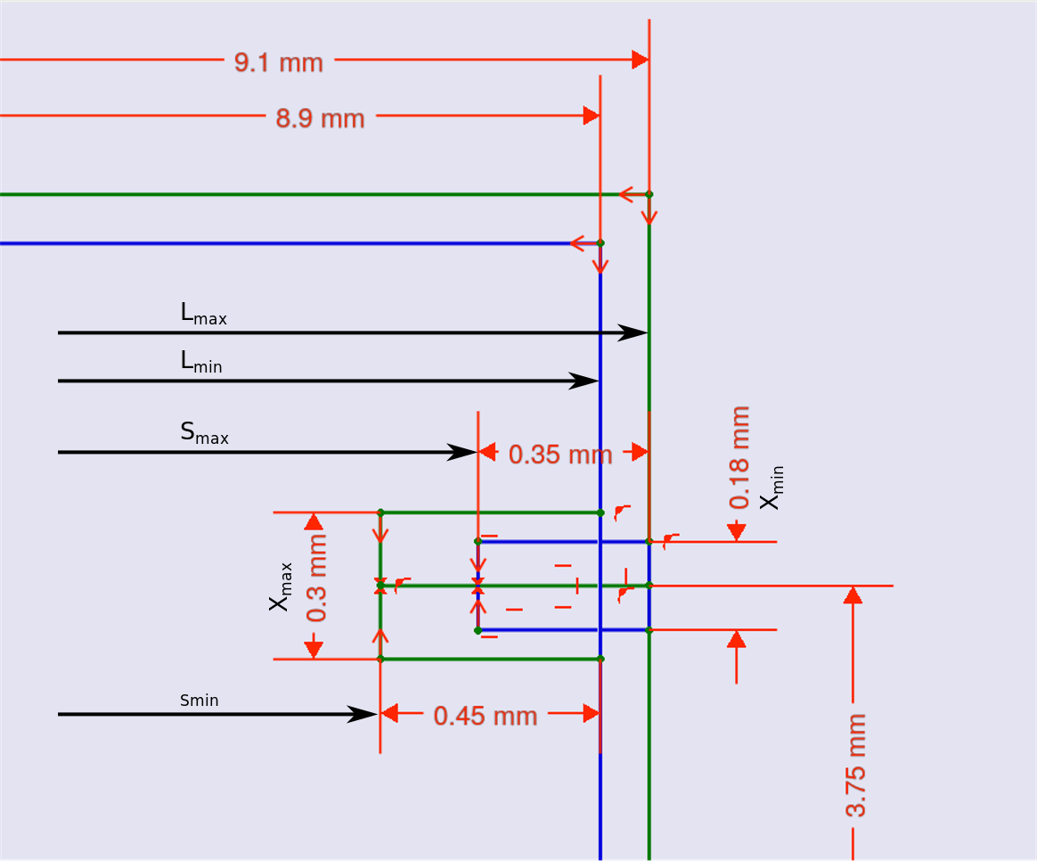 Tutorial How To Make A Footprint From Scratch Faq Kicadinfo 5 Pin Relay Contact Area1164x966 811 Kb