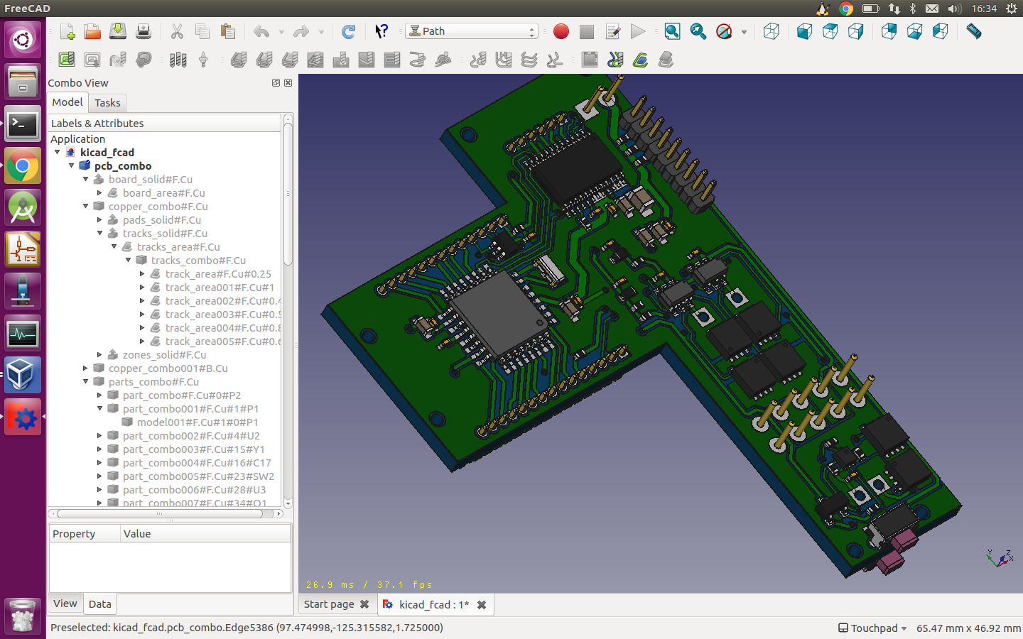 Exporting pcb tracks to mechanical cad for FEM - Layout - KiCad.info ...
