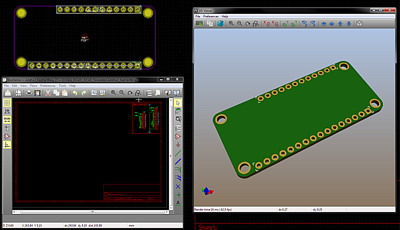 Designing featherwings in kicad layout forums
